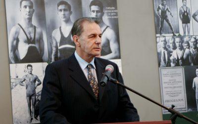 Elhunyt Jacques Rogge, a Nemzetközi Olimpiai Bizottság egykori elnöke.