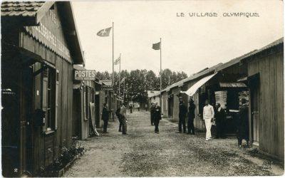 Az olimpiai falu fejlődése: a kezdetektől 1956-ig